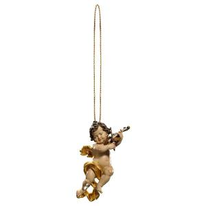 Cherub with violine with gold string