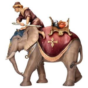 UL Elephant group with jewels saddle - 3 Pieces
