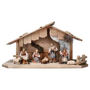 SH Shepherds Nativity Set - 9 Pieces