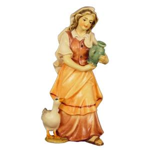 Shepherdess with wather jug